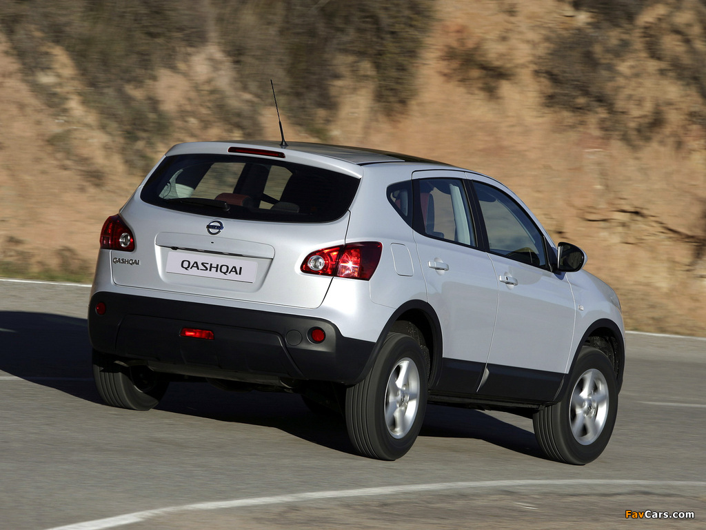 Nissan Qashqai 2WD 2007–09 pictures (1024 x 768)