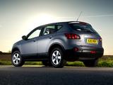 Nissan Qashqai UK-spec 2007–09 pictures