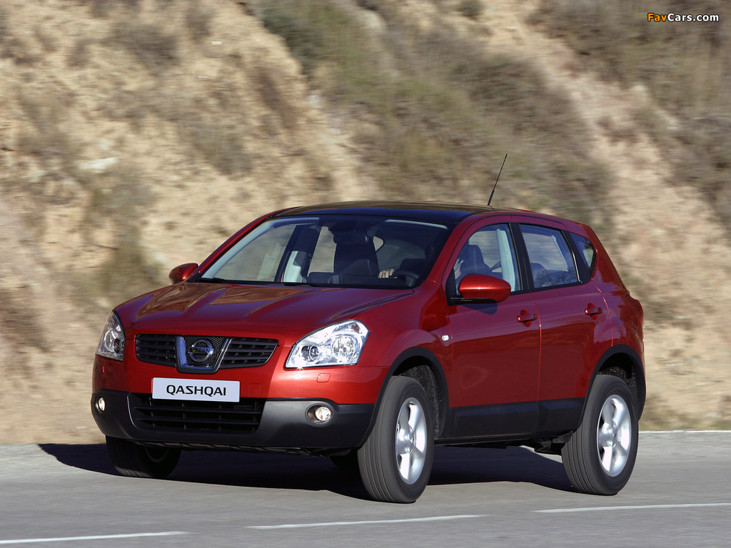 Nissan Qashqai 4WD 2007–09 pictures (1024 x 768)