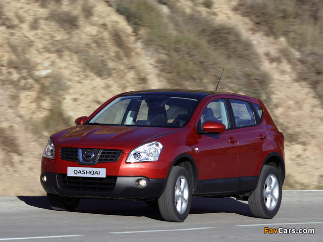 Nissan Qashqai 4WD 2007–09 pictures (640 x 480)
