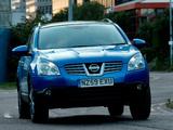 Nissan Qashqai UK-spec 2007–09 wallpapers