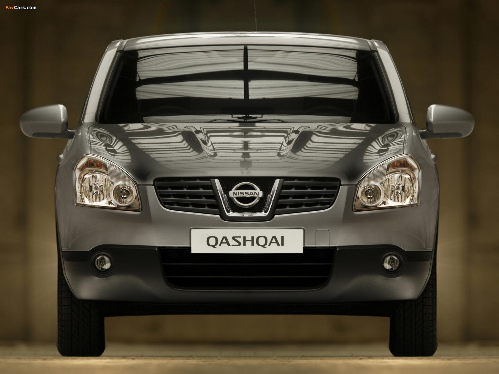 Nissan Qashqai 2WD 2007–09 wallpapers (1600 x 1200)