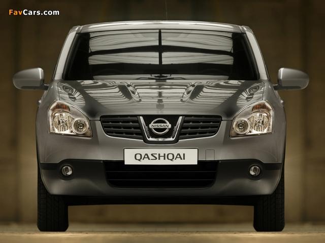 Nissan Qashqai 2WD 2007–09 wallpapers (640 x 480)
