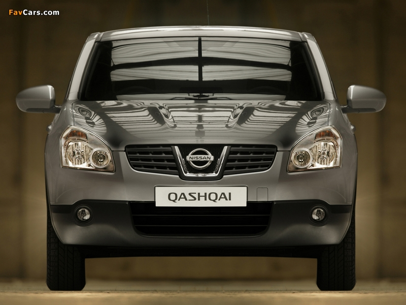 Nissan Qashqai 2WD 2007–09 wallpapers (800 x 600)