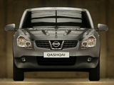 Nissan Qashqai 2WD 2007–09 wallpapers