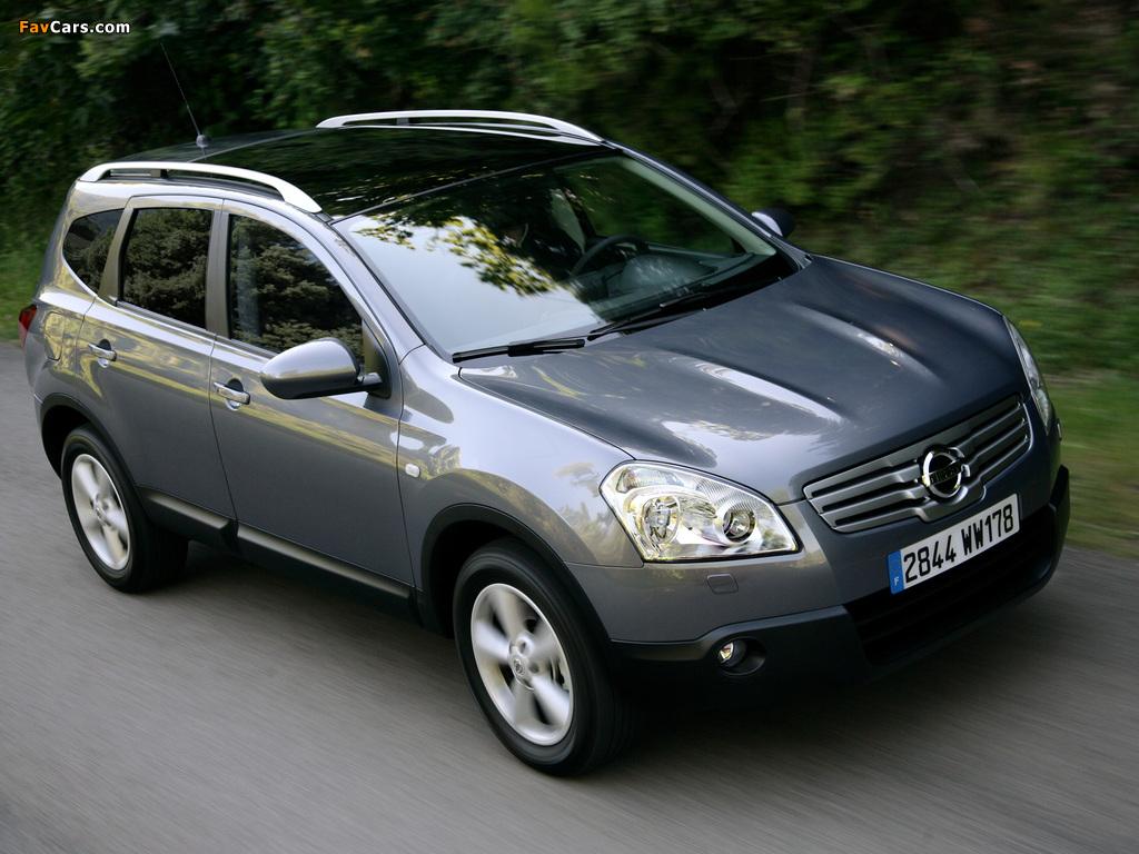 Nissan Qashqai+2 2008–09 images (1024 x 768)
