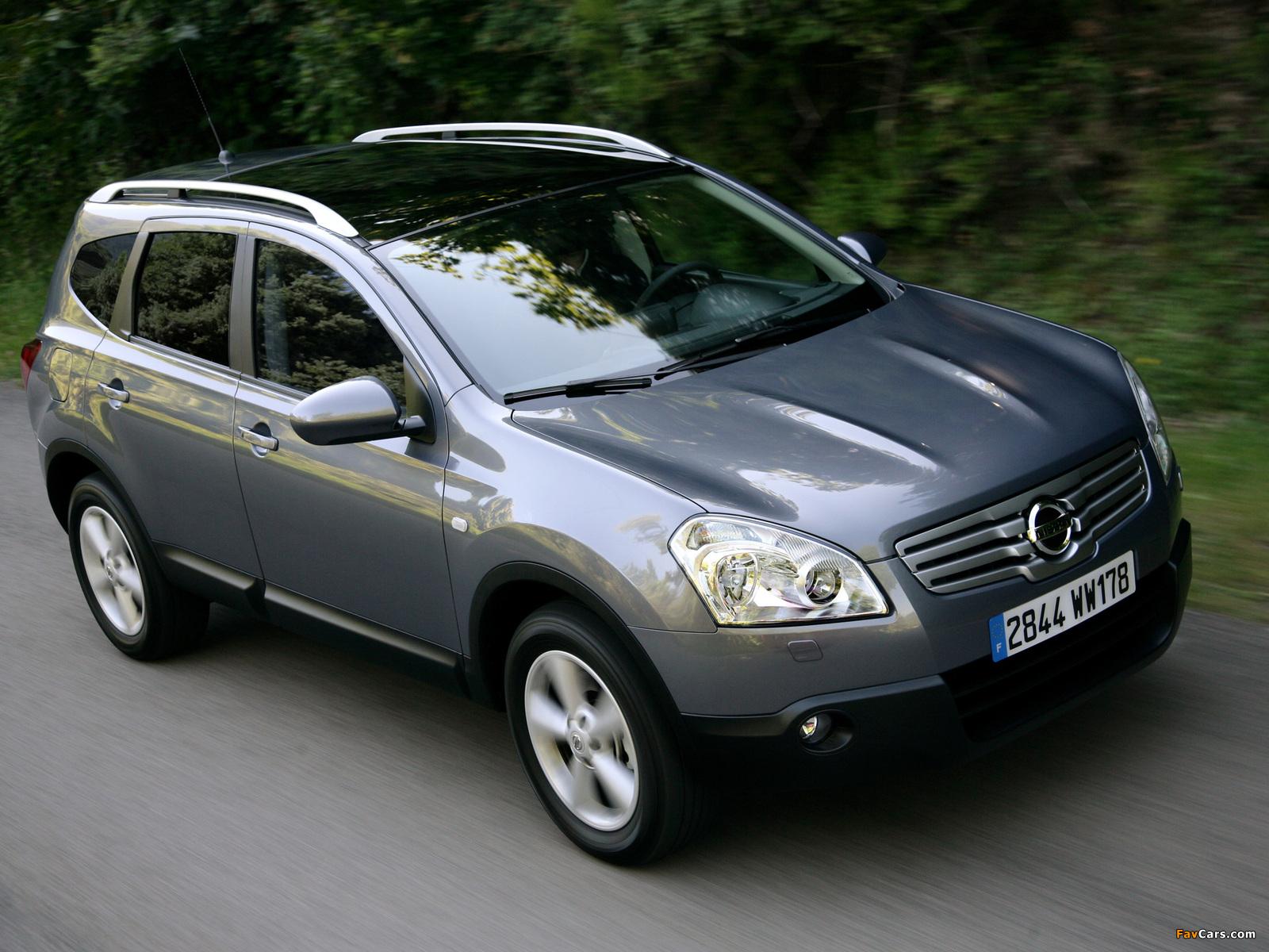 Nissan Qashqai+2 2008–09 images (1600 x 1200)