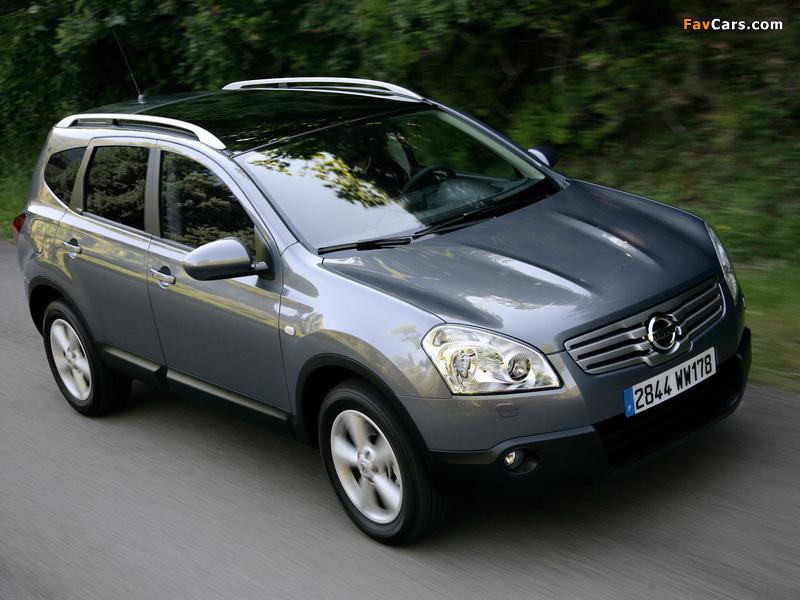 Nissan Qashqai+2 2008–09 images (800 x 600)