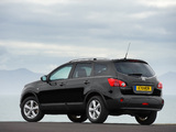 Nissan Qashqai+2 UK-spec 2008–09 images