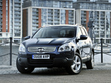 Nissan Qashqai+2 UK-spec 2008–09 photos