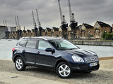 Nissan Qashqai+2 UK-spec 2008–09 photos