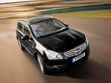Nissan Qashqai+2 UK-spec 2008–09 wallpapers
