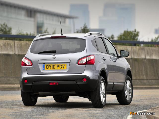 Nissan Qashqai UK-spec 2009 images (640 x 480)