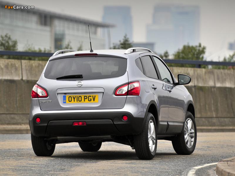 Nissan Qashqai UK-spec 2009 images (800 x 600)