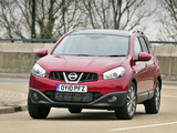Nissan Qashqai+2 UK-spec 2009 photos