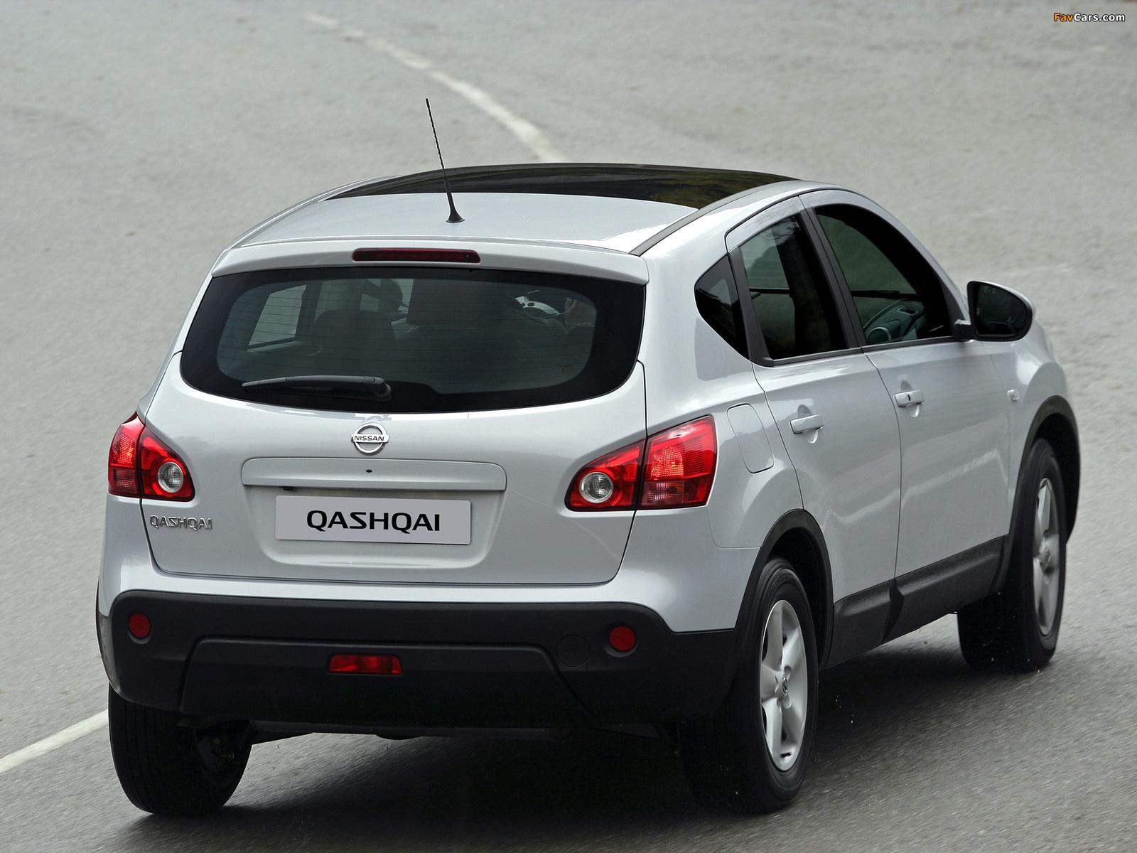Photos of Nissan Qashqai 2WD 2007–09 (1600 x 1200)