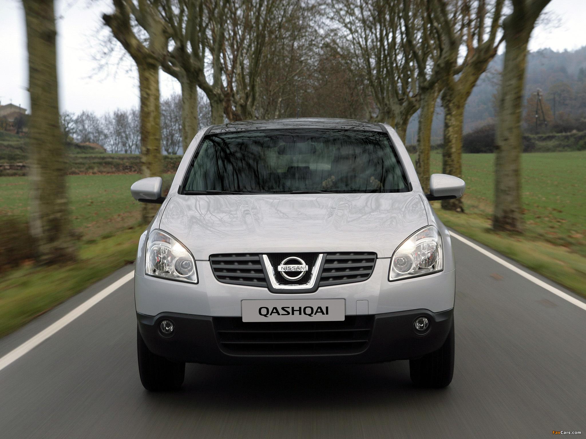 Photos of Nissan Qashqai 2WD 2007–09 (2048 x 1536)