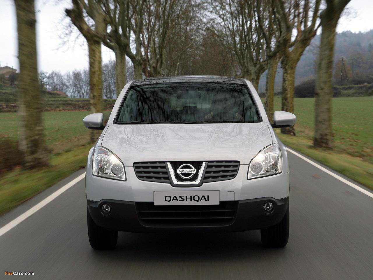 Photos of Nissan Qashqai 2WD 2007–09 (1280 x 960)