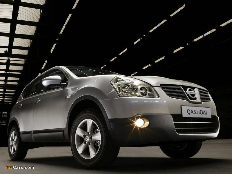 Photos of Nissan Qashqai 2WD 2007–09 (800 x 600)