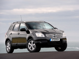 Photos of Nissan Qashqai+2 UK-spec 2008–09