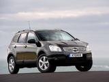 Photos of Nissan Qashqai+2 UK-spec 2008–09