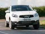 Photos of Nissan Qashqai UK-spec 2009