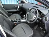 Pictures of Nissan Qashqai UK-spec 2009