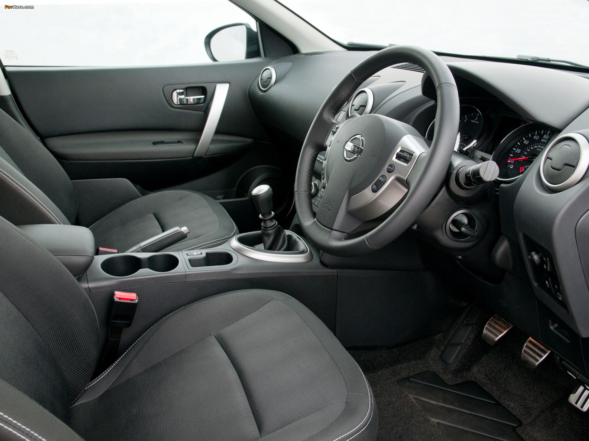 Pictures of Nissan Qashqai UK-spec 2009 (2048 x 1536)