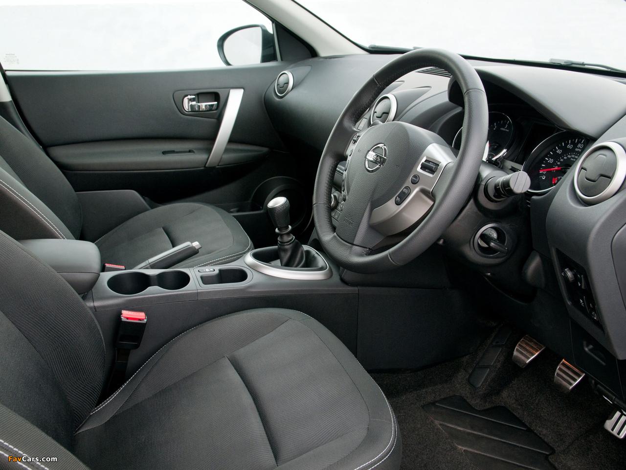 Pictures of Nissan Qashqai UK-spec 2009 (1280 x 960)