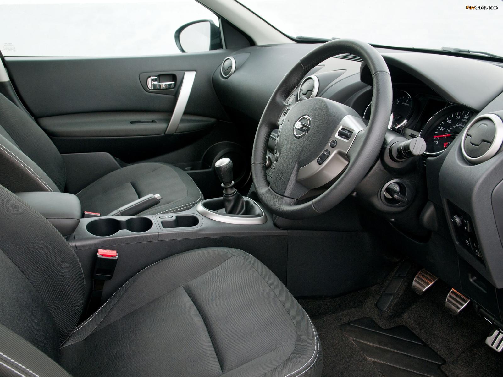 Pictures of Nissan Qashqai UK-spec 2009 (1600 x 1200)