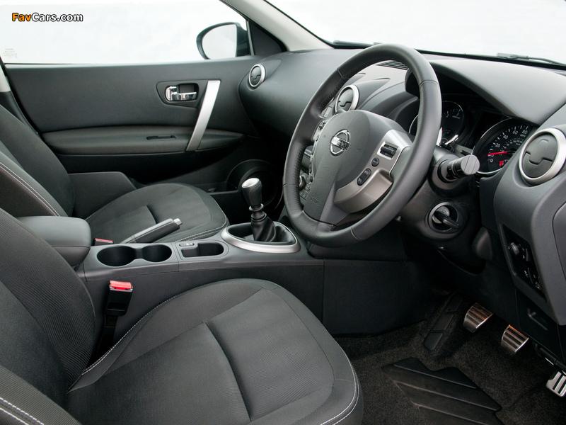 Pictures of Nissan Qashqai UK-spec 2009 (800 x 600)