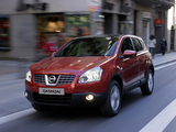 Nissan Qashqai 4WD 2007–09 wallpapers