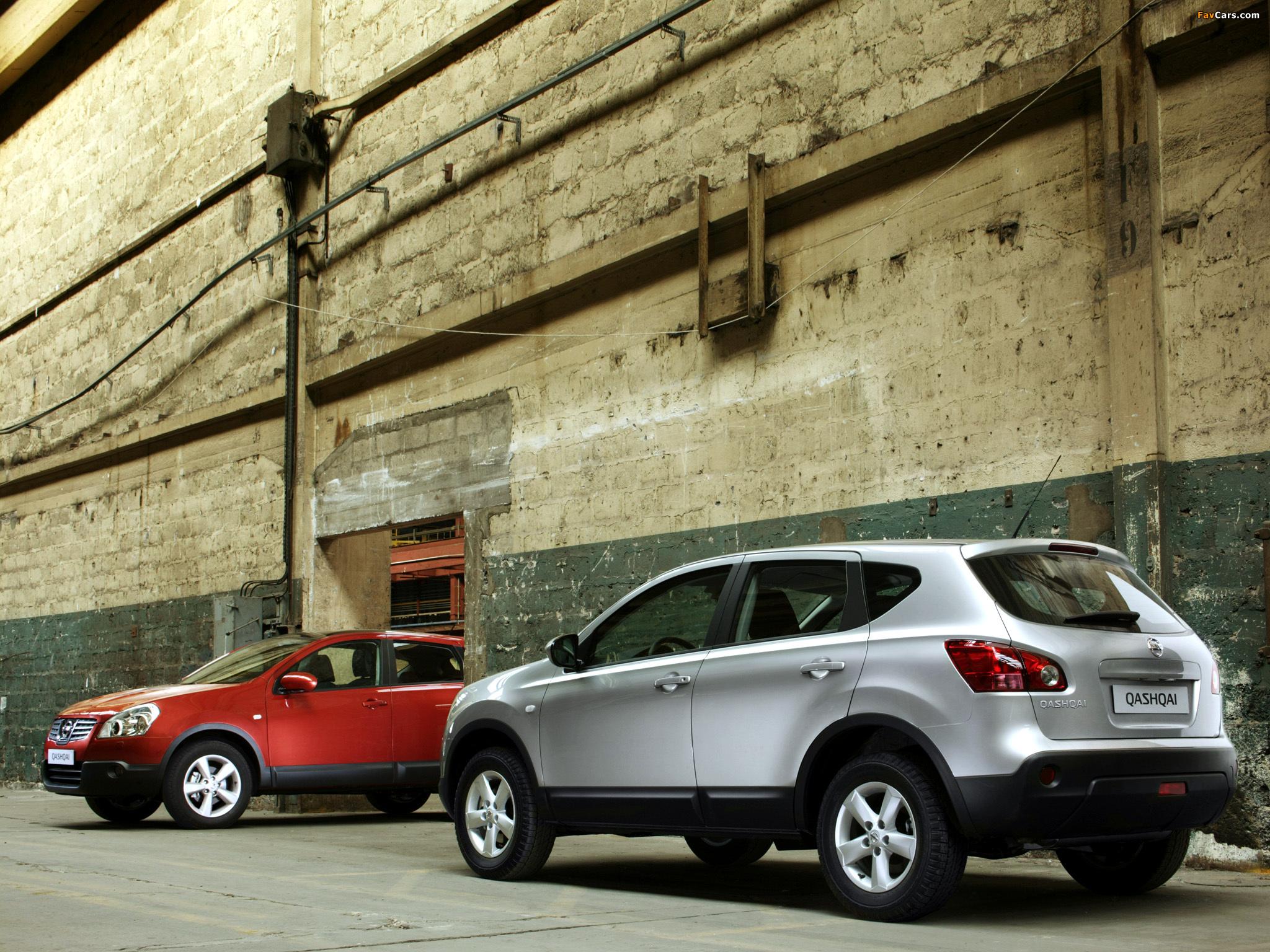 Nissan Qashqai 2WD 2007–09 wallpapers (2048 x 1536)
