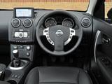 Nissan Qashqai+2 UK-spec 2008–09 wallpapers