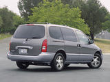 Photos of Nissan Quest 2000–02