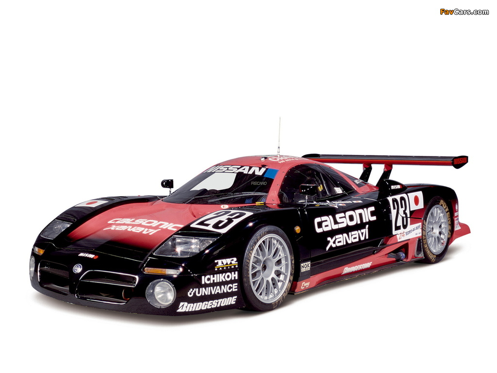 Images of Nissan R390 GT1 1997–98 (1024 x 768)