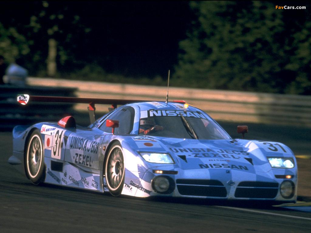 Nissan R390 GT1 1997–98 photos (1024 x 768)