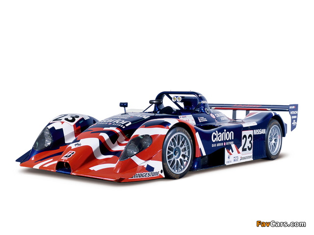Nissan R391 1999 wallpapers (640 x 480)