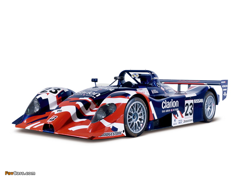 Nissan R391 1999 wallpapers (800 x 600)