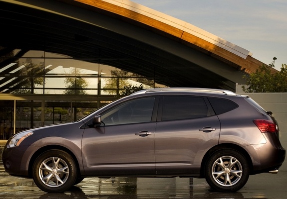 Photos of Nissan Rogue 2007–10