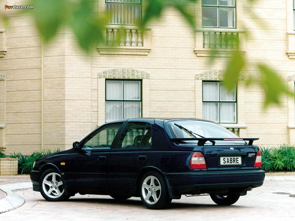 Nissan Sabre (N14) 1990–95 images (1024 x 768)