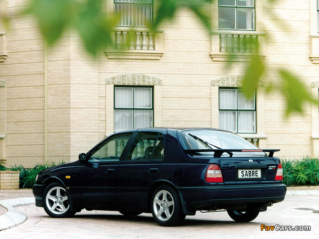 Nissan Sabre (N14) 1990–95 images (640 x 480)