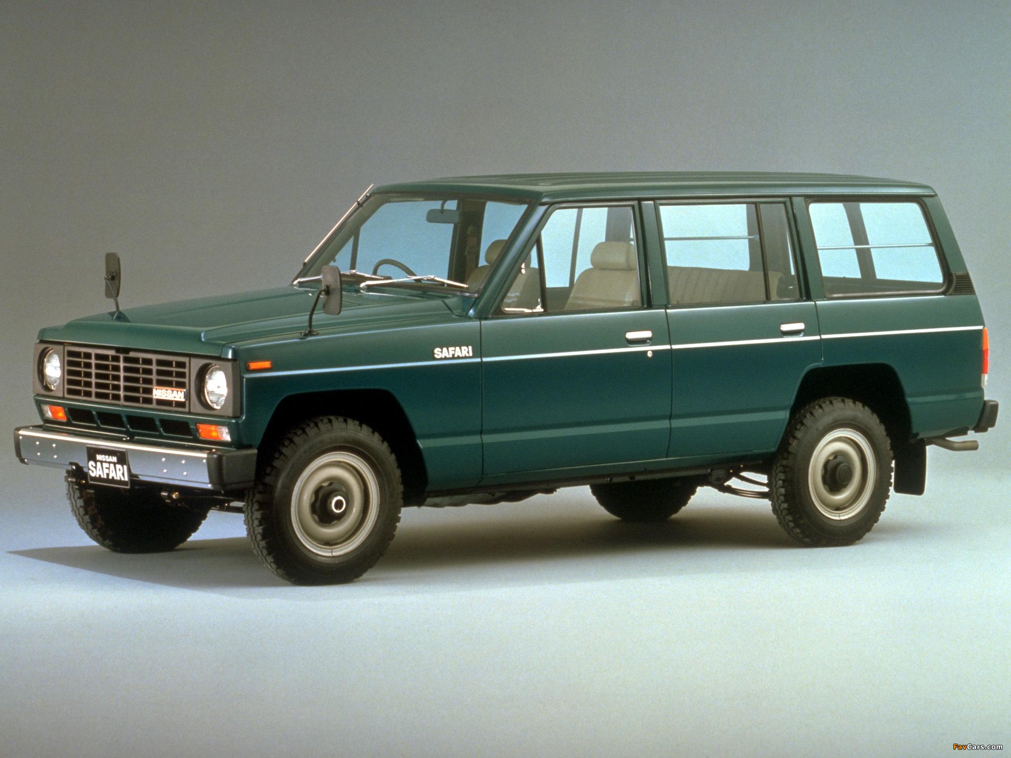 Images Of Nissan Safari Station Wagon Ad G160 1980 85