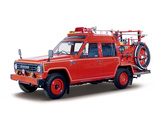 Nissan Safari Fire Engine (FG160) 1980–94 pictures