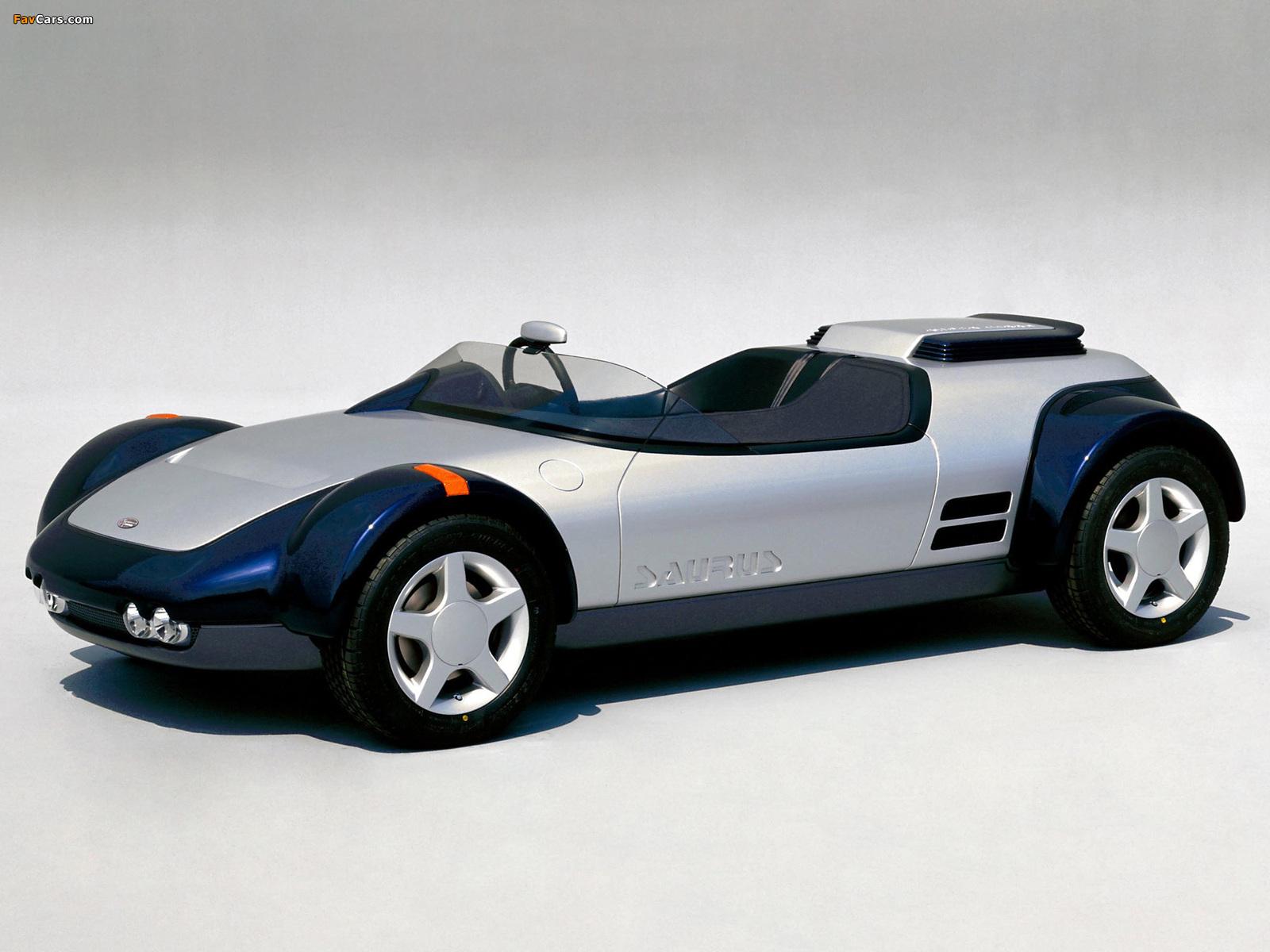 Photos of Nissan Saurus Concept 1987 (1600 x 1200)