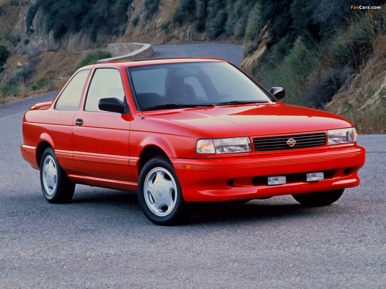 Nissan Sentra Se R Coupe B13 1991 94 Photos 1280x960