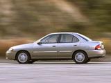 Nissan Sentra (B15) 1999–2004 photos