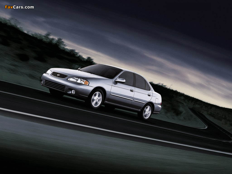 Nissan Sentra (B15) 1999–2004 wallpapers (800 x 600)