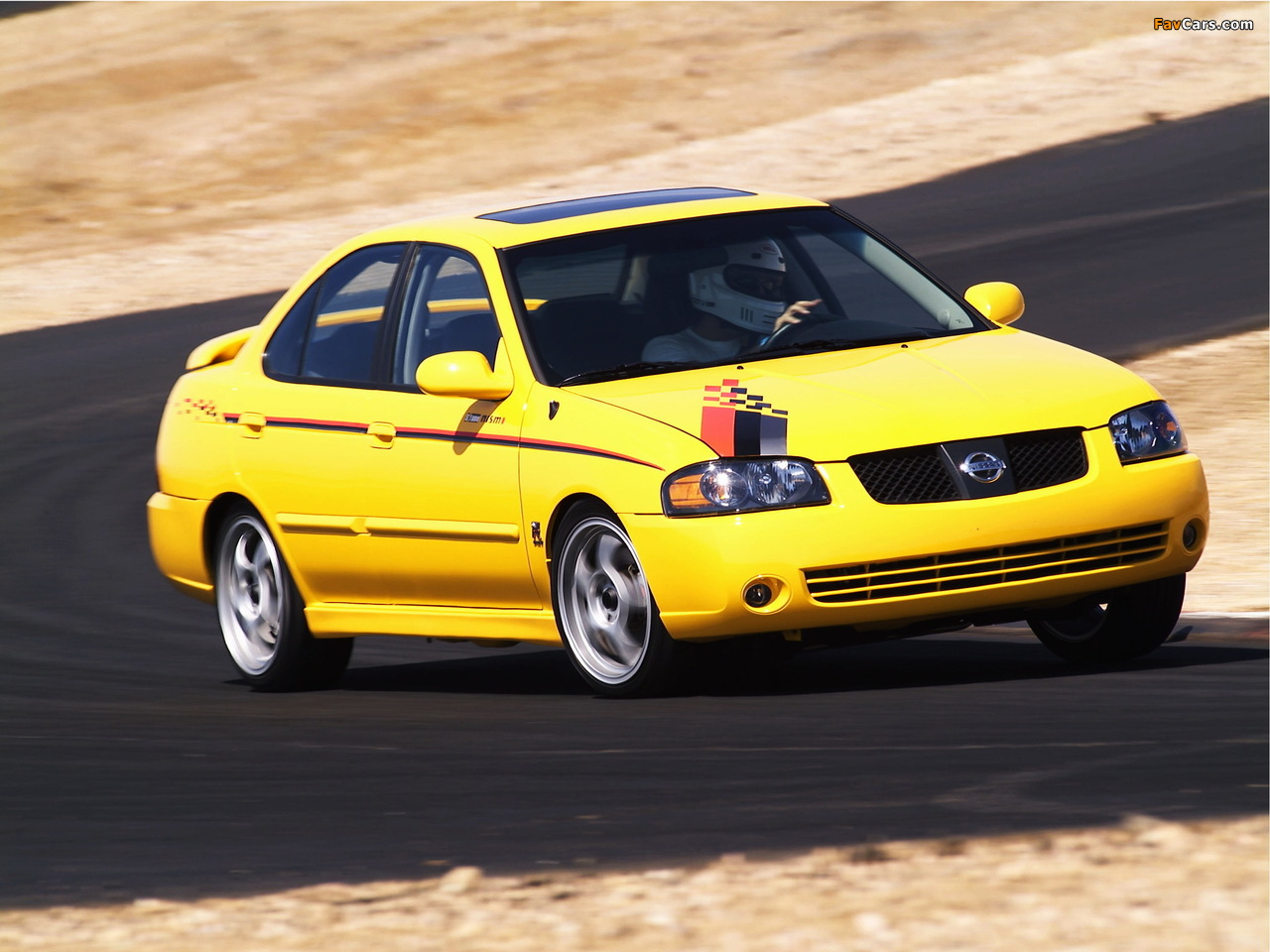 Nismo Nissan Sentra SE-R (B15) 2004 pictures (1280 x 960)