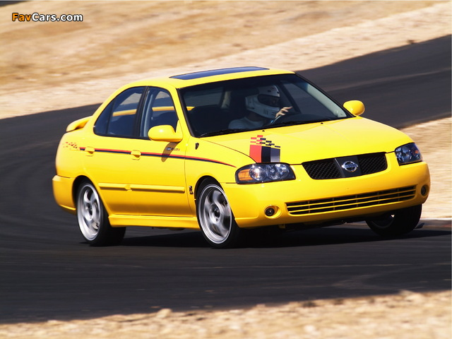 Nismo Nissan Sentra SE-R (B15) 2004 pictures (640 x 480)